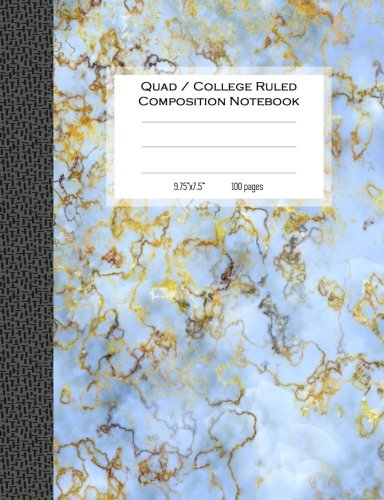 Quad College Ruled Composition Notebook 100 Pages 7