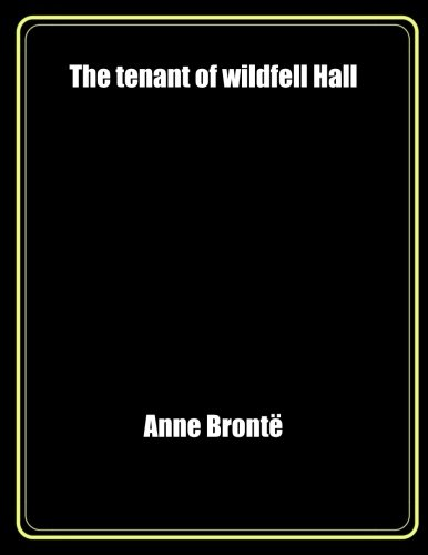 9781976165634: The tenant of wildfell Hall