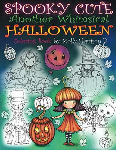 9781976182150: Spooky Cute - Another Whimsical Halloween Coloring Book: Witches, Vampires, Kitties and More!