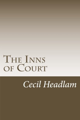 The Inns of Court: Headlam, Cecil