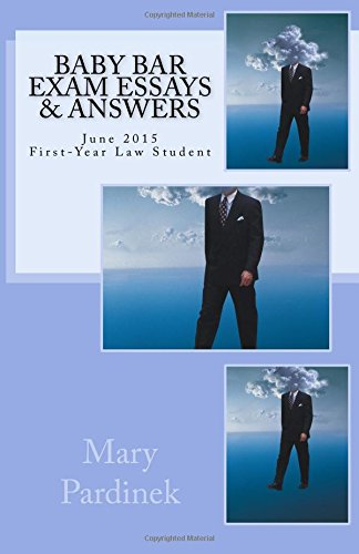 Baby Bar Exam Essays and Answers: June: Pardinek, Mary T.
