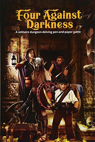9781976371455: Four Against Darkness: A solitaire dungeon-delving pen-and-paper game: Volume 1