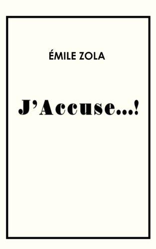 9781976481536: J'accuse