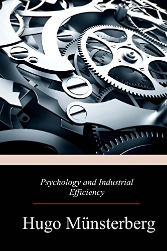 9781976528842: Psychology and Industrial Efficiency