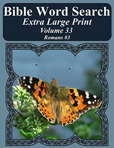 Bible Word Search Extra Large Print Volume: Pope, T. W.