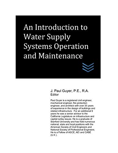 9781977047441: An Introduction to Water Supply Systems Operation and Maintenance