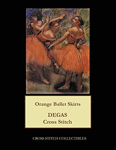 Orange Ballet Skirts: Degas Cross Stitch Pattern: Kathleen George, Cross