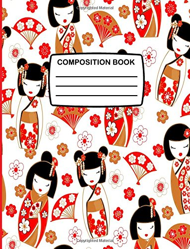 Composition Book: Large Composition Notebook with Japanese: Press, Kensington