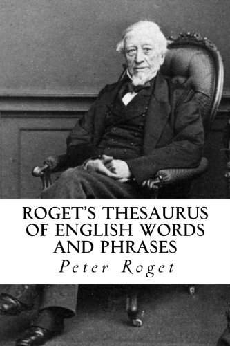 9781977751423: Roget's Thesaurus of English Words and Phrases