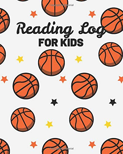 Reading Log For Kids: Reading Log Journal Notebook For Kids (8x 10)(V9): Dartan Creations