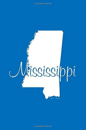 Mississippi - Cobalt Blue Lined Notebook with: Legacy