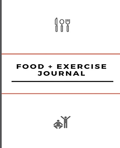 "Food and Exercise Journal: 7.5"" x 9.25"",: Health Journals"