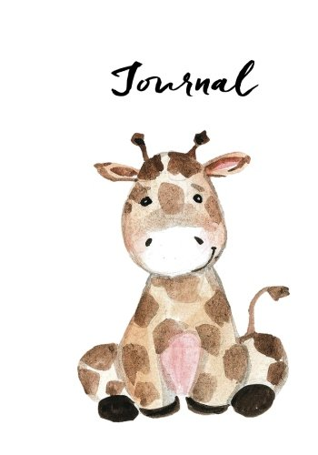 Journal: Cute Little Giraffe: Notebook, Journal, Diary: 7 x 10 inches, 120 pages (Always and ...