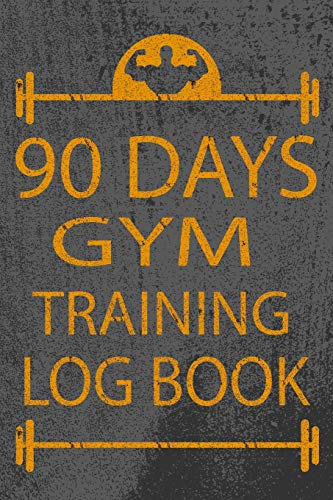 9781978194250: 90 Days Gym Training Log Book: Sporty Fitness Journal Workout and Progress Tracker Notebook Exercise Workout Cardio Log Diary Size 6x9 Inches: Volume 2