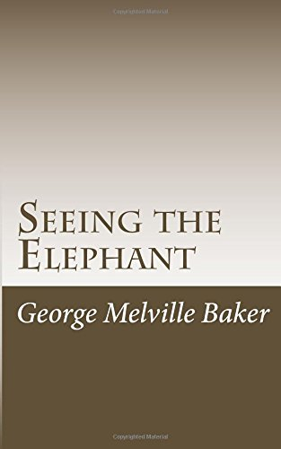 9781978297388: Seeing the Elephant