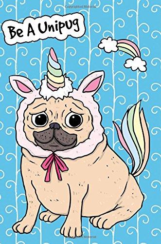 Bullet Journal Notebook For Dog Lovers Unicorn: Tree, Journal