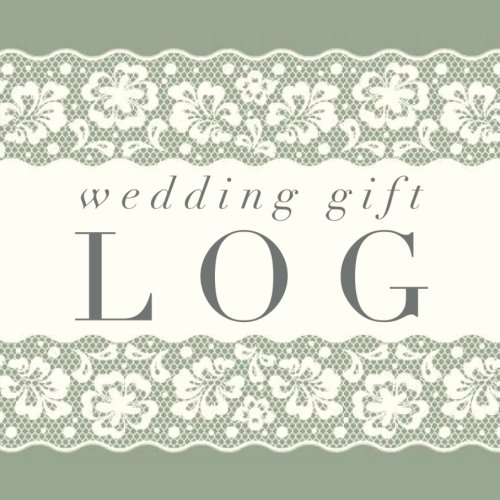 wedding gift log lace registry recorder organizer keepsake