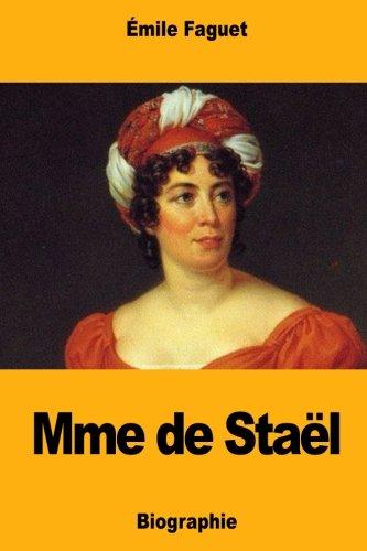 Mme de Stael (Paperback): Emile Faguet