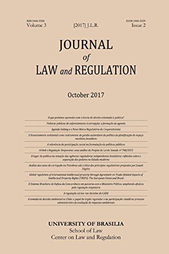 Journal of Law and Regulation / Revista: Guilherme del Negro