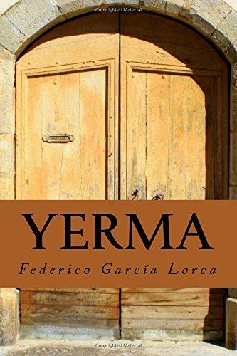 9781979165006: Yerma