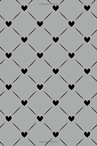 Bullet Journal Notebook Black Quilted Hearts Pattern: Tree, Journal
