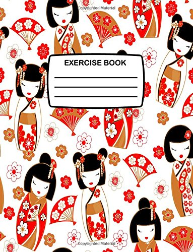 Exercise Book: Cute Notebook with Japanese Kokeshi: Press, Kensington