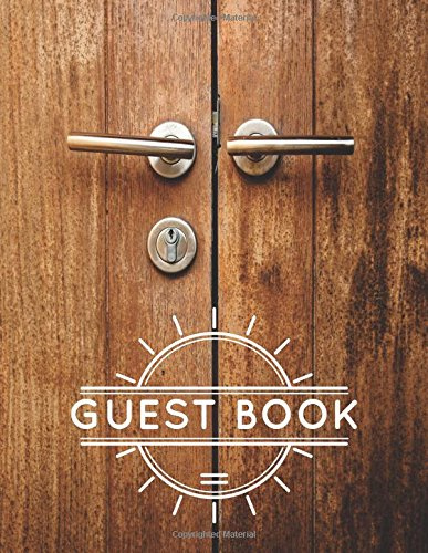 Guest Book: For AirBnB, Vacation Rentals,
