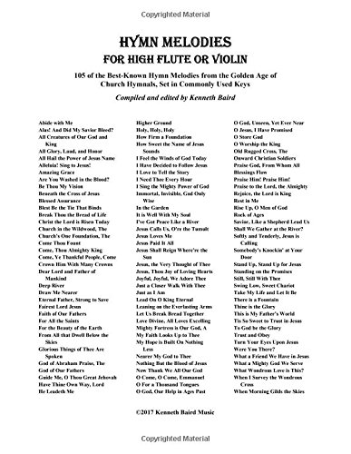 Hymn Melodies for High Flute: 105 of: Baird, Kenneth R.