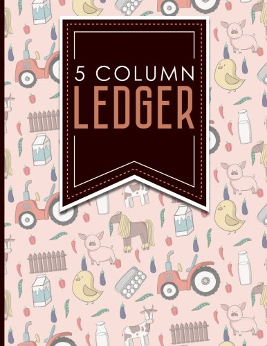 5 Column Ledger: Accounting Journal Entries, Daily: Publishing, Moito