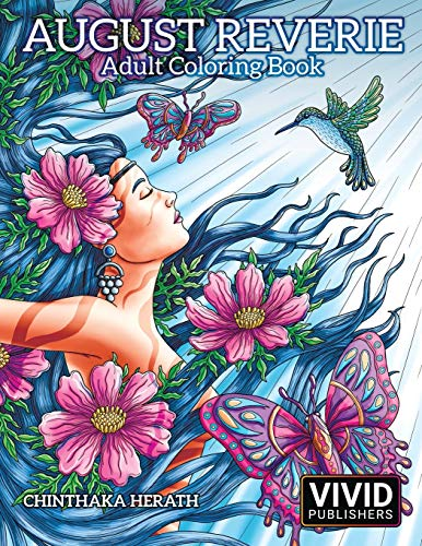 9781979783439: August Reverie: Adult Coloring Book
