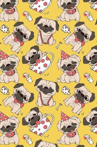 Bullet Journal Notebook Funny Pugs Pattern 10: Girl, Paper