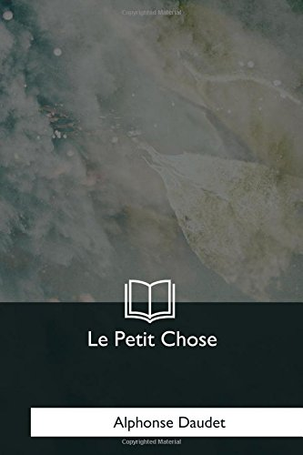 9781979858151: Le Petit Chose (French Edition)