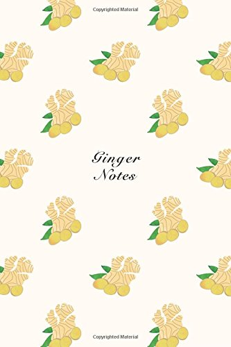 """Ginger Notes: 6""""x9"""" Notebook Watercolor Texture Design: Storyteller, Another"""