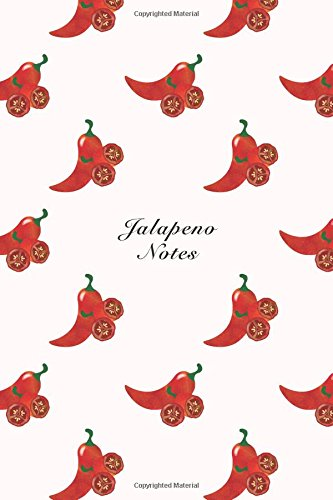 """Jalapeno Notes: 6""""x9"""" Notebook Watercolor Texture Design: Storyteller, Another"""
