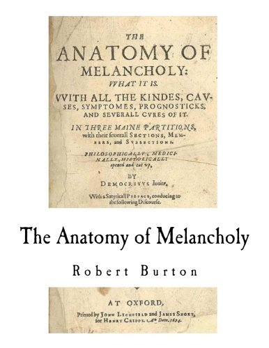 9781979910101: The Anatomy of Melancholy