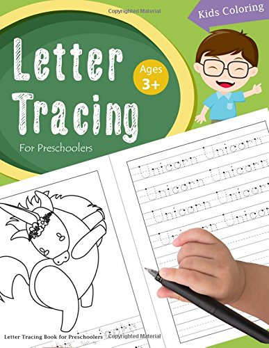 Letter Tracing Book for Preschoolers: Letter Tracing Books for Kids Ages 3-5,Letter Tracing ...