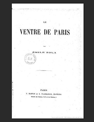 9781980233831: Le Ventre de Paris (French Edition)