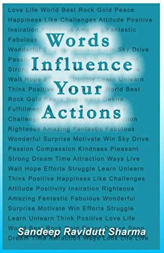 9781980800736 Words Influence Your Actions Positive