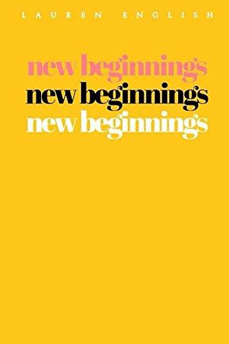 9781980929123: New Beginnings