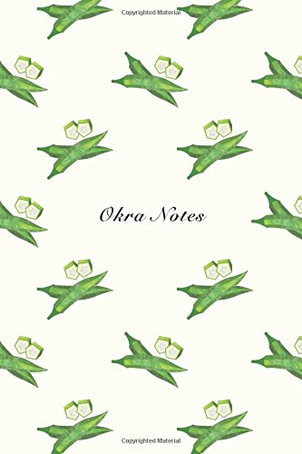 """Okra Notes: 6""""x9"""" Unruled Blank Notebook Watercolor: Storyteller, Another"""