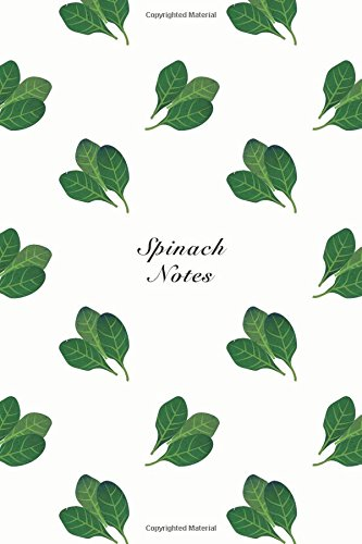 """Spinach Notes: 6""""x9"""" Unruled Blank Notebook Watercolor: Storyteller, Another"""