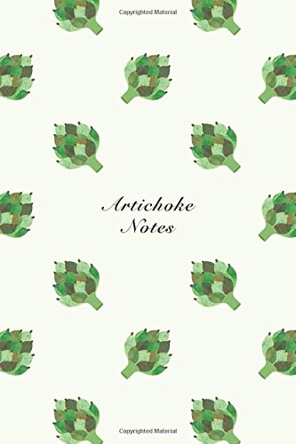 """Artichoke Notes: 6""""x9"""" Unruled Blank Notebook Watercolor: Storyteller, Another"""