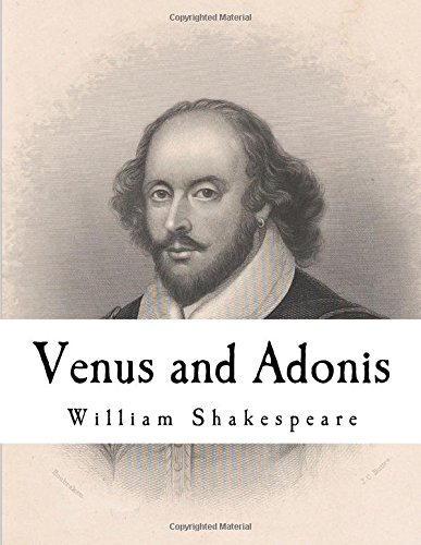 9781981165513: Venus and Adonis by William Shakespeare