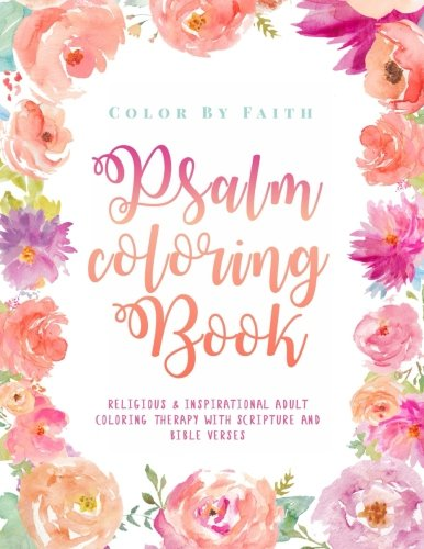 Psalm Coloring Book Relaxing amp