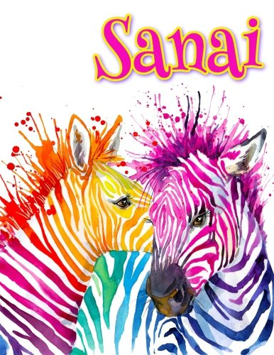 Sanai: Personalized Book with Name, Notebook, Journal,: Art, Black River