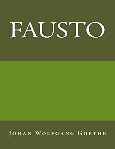 9781981397563: Fausto