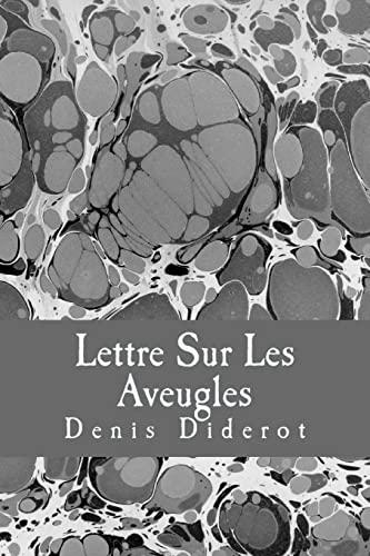9781981657377: Lettre Sur Les Aveugles