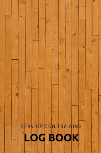 service dog training log book train your pet keep a record