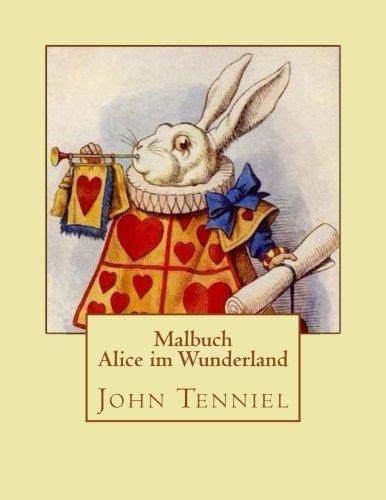 Alice Im Wunderland - Malbuch: Carroll, Lewis