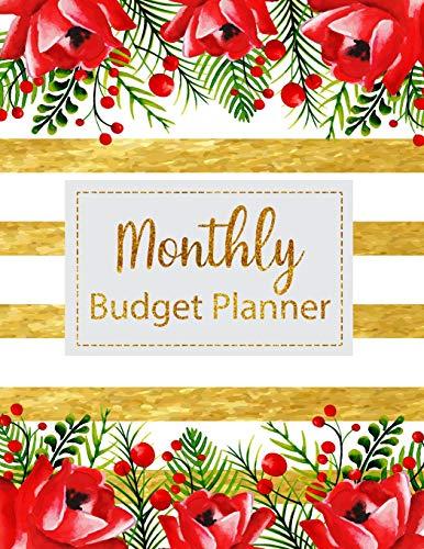 9781982012403 monthly budget planner floral vintage stripes weekly